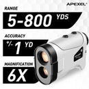 APEXEL Laser Rangefinder 600M 800M 1200M Laser Golf Distance Finder Meter for Golf Sport, Hunting, Survey APEXEL 800