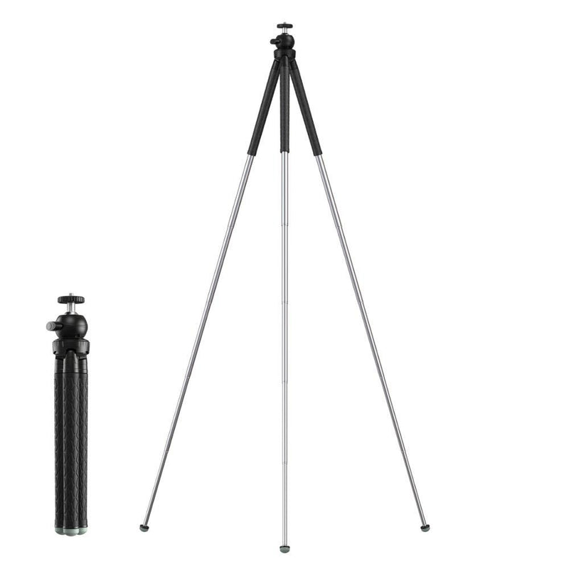 Apexel Extendable Premium 1/4 Screw 1.1m Tripod Mobile Photography Accessories APEXEL