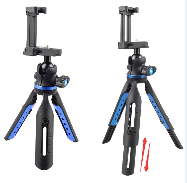 Durable Retractable Mini Tripod for Mobile Phone DSLR Camera APEXEL
