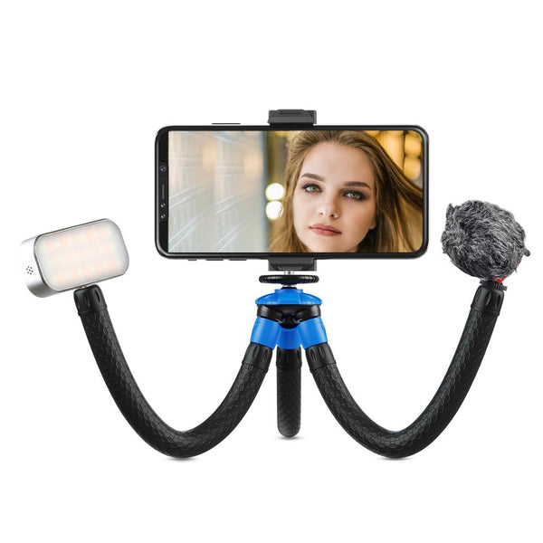 Detachable Octopus Tripod for Smartphone DSR Camera APEXEL