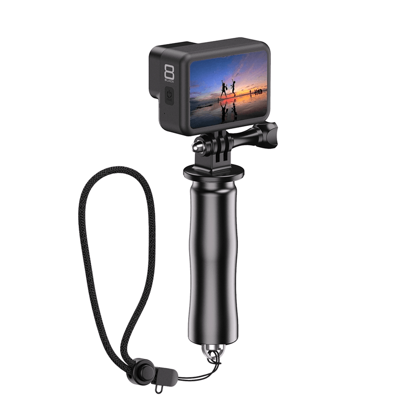 Vlogging Video Equipment Handle Grip Tripod Kit with LED light microphone APEXEL