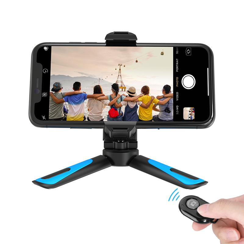 Mini Mobile Phone Table Tripod Stand APEXEL With Remote