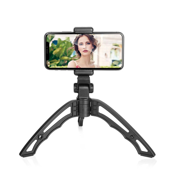 Compact Selfie Handheld Stable Tripod for Smartphone Camera DSLR APEXEL Without Remote Shutter