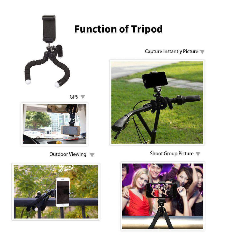 18X Telescope Fisheye Wide Angle Macro 4in1 Lens Kit with Tripod Clip for Phone APEXEL