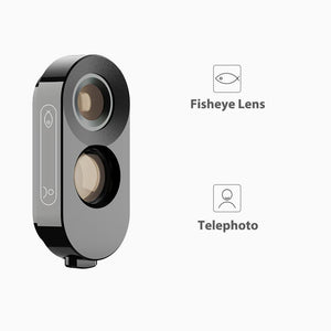 iPhone Camera Lens Kit with Case APEXEL