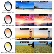 Load image into Gallery viewer, New trending items 0.45X Super Wide Angle Macro Lens 37/52mm CPL ND32 Grad Color Filter Lens Kit For Mobile Phone Mobile Photography Accessories APEXEL