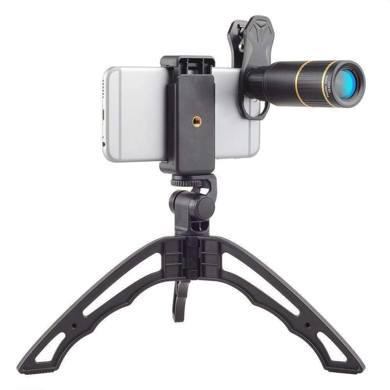 16x HD Telescope Zoom Phone Camera Lens With Handheld Tripod APEXEL 16X Lens with Tripod