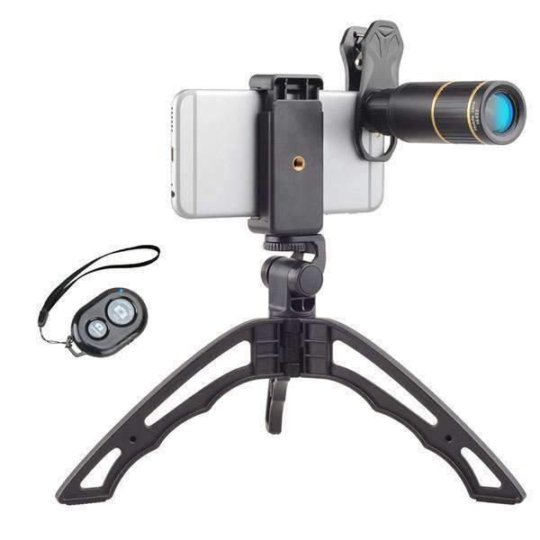 16x HD Telescope Zoom Phone Camera Lens With Handheld Tripod APEXEL 16X Lens with Tripod&Remote Shutter