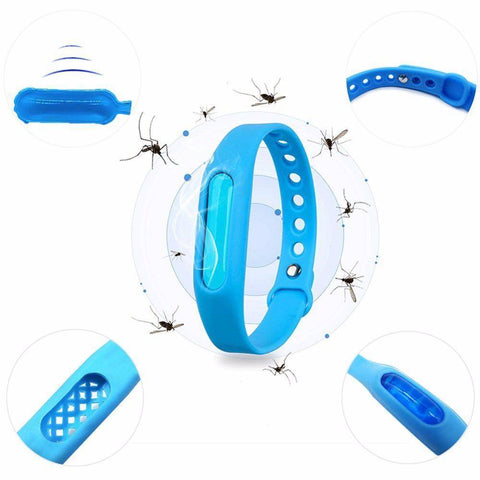 Image of BugOff™ Bug Repellent Bracelet - Humblefy