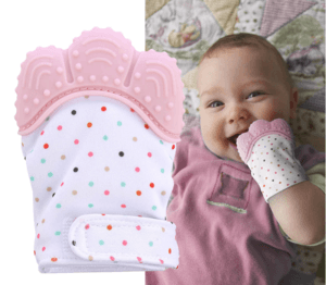 Image of ChewyMitt - Baby Teething Mitten