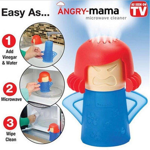 Angry-Mama - Rapid Microwave Cleaner