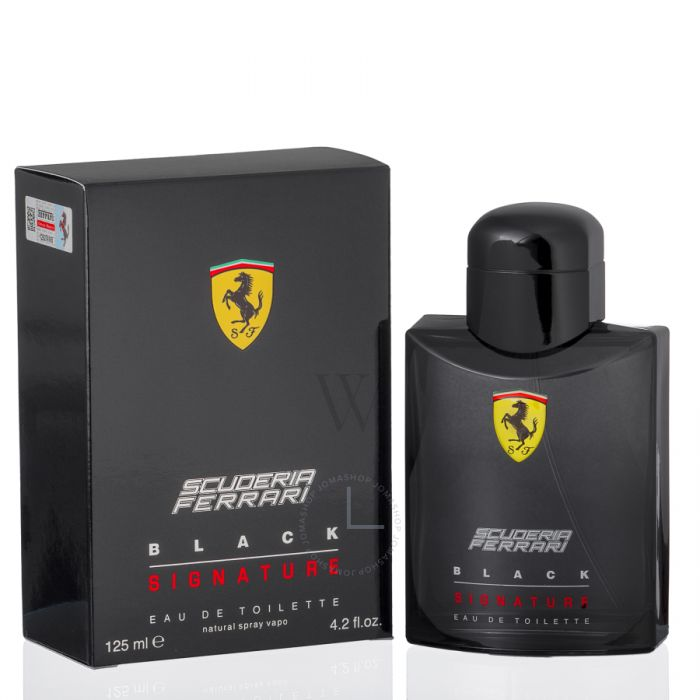 Ferrari Scuderia Black Signature EDT Hombre 125Ml.