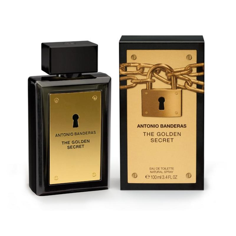 The Golden Secret 200ML EDT Hombre Antonio Banderas