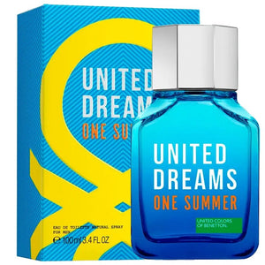 United Dreams One Summer 100ML EDT Hombre Benetton
