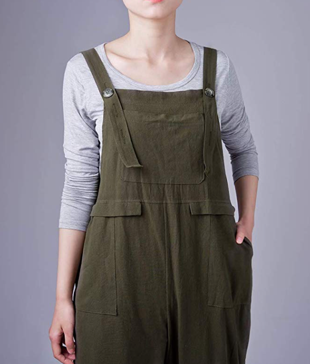 Bohemian Overall With Pockets