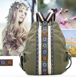Artisan Boho Backpack