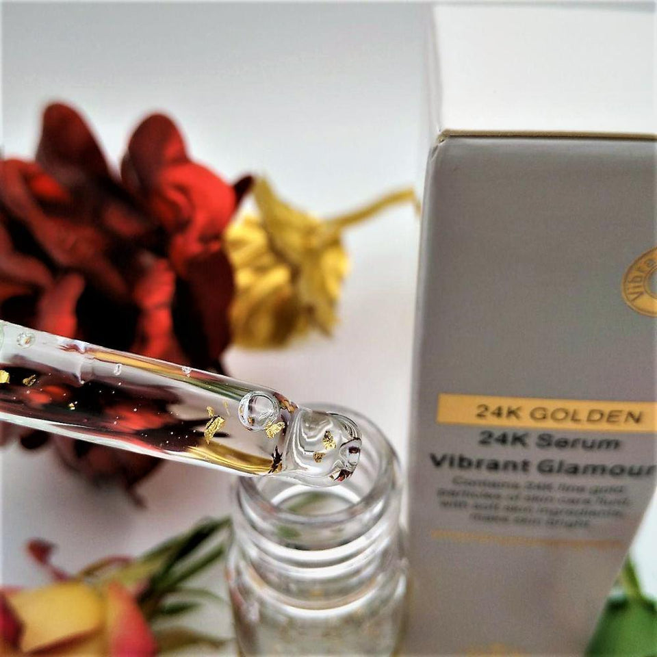 Flawlessly Radiant 24K GOLD Ageless Serum 15ml (0.5oz) - dailyoh