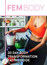 Load image into Gallery viewer, Fembody Tea -  30 Day body transformation eating guide