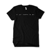 Black No One Compares To You Script Tee + Digital