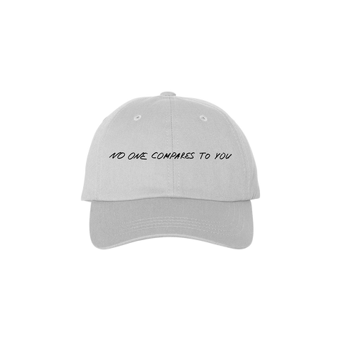 White Dad Hat + Digital
