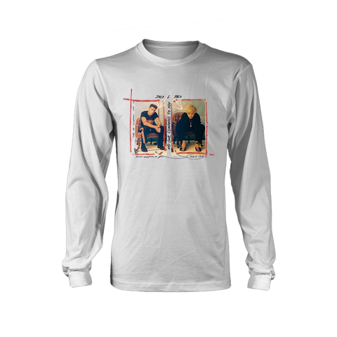 White No One Compares To You Cover Longsleeve + Digital