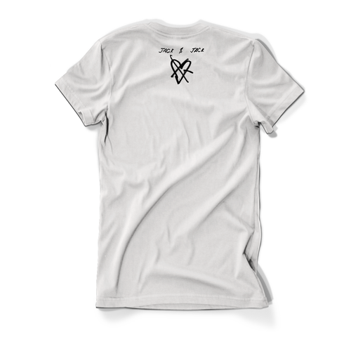 White No One Compares To You Script Tee + Digital