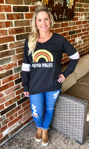 Good Vibes Long Sleeve T-Shirt