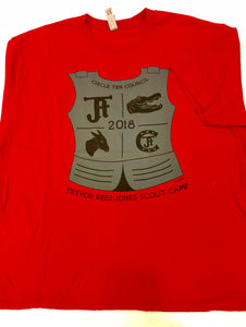 TRJ T-Shirt - Armor - Red