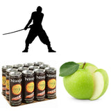Ninja Apple and energy drinks