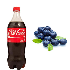 Blue Cola - Blueberry & Cola Soda
