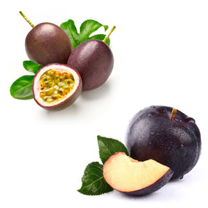 passionfruit and plum