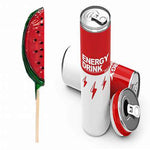 Watermelon Hype - Energy Drink & Candy Watermelon