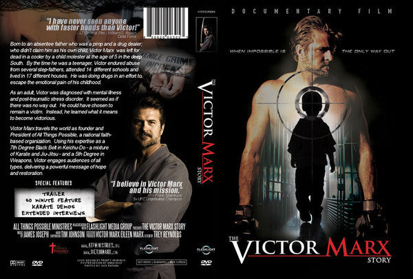 DVD: The Victor Marx Story now comes with 15 subtitles (suggested donation includes shipping)