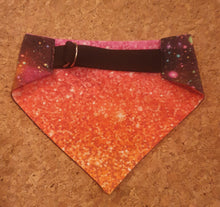 Load image into Gallery viewer, Reversible D Ring Bandana - Cosmic Pink