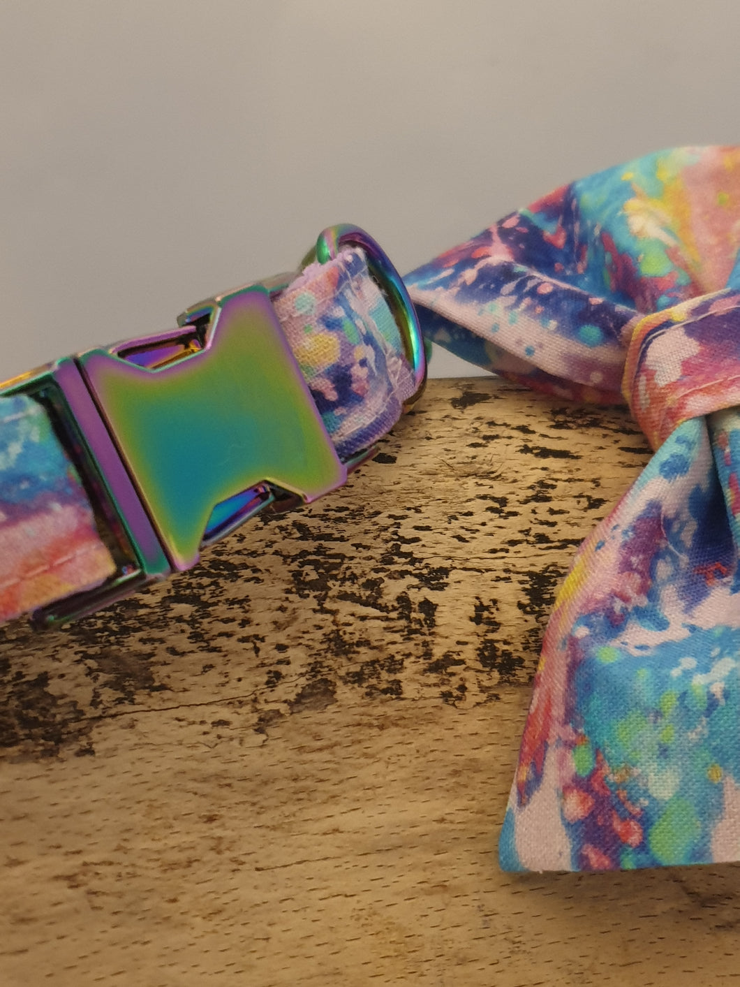 Abstract Sky Dog Collar