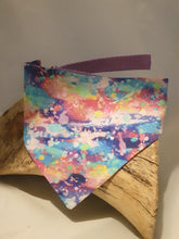 Load image into Gallery viewer, Reversible D Ring Bandana - Neuk Brights/Abstract Sky