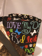 Load image into Gallery viewer, Reversible D Ring Safety Bandana - I Love My Dog