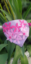 Load image into Gallery viewer, D Ring Bandana - Spring has Sprung Pink Glitter (Diva)