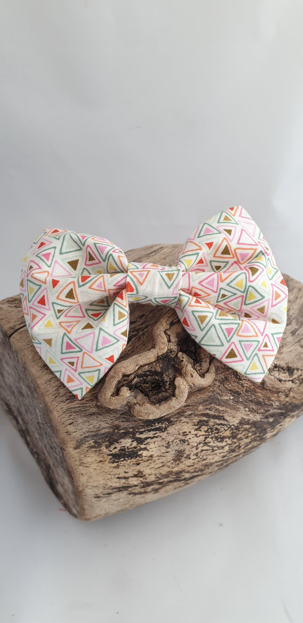 Spring Triangles Bow