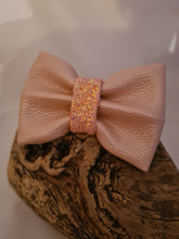 Load image into Gallery viewer, The Faux Leather Bow