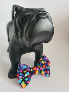 Rainbow Dots Bow