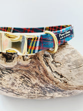 Load image into Gallery viewer, Anderson Tartan Dog Collar 14 - 18 inch