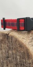 Load image into Gallery viewer, Fraser Tartan Dog Collar