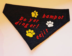 "SLIP ON ""Do yer Dinger"" Bandana"