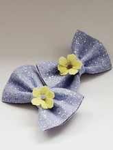 Load image into Gallery viewer, The Glitter Bow Hair Clip - various