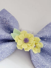 Load image into Gallery viewer, The Glitter Pinch Bow - various