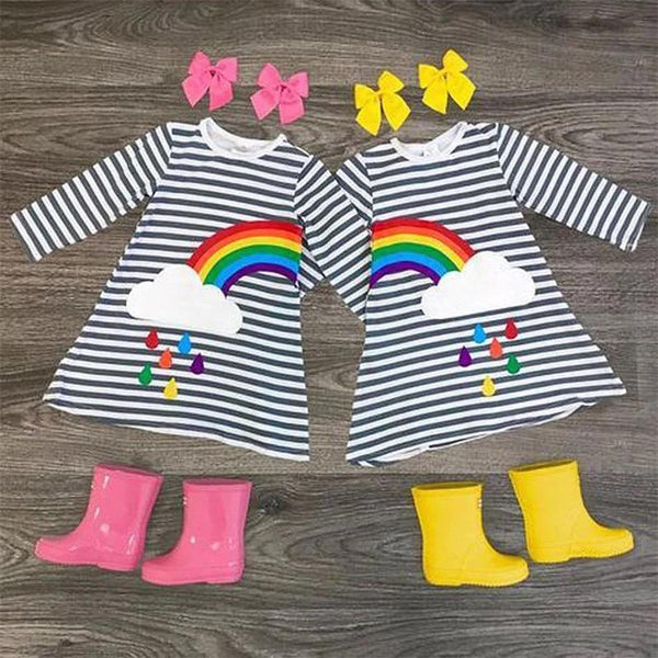 Rainbow Cloud Dress