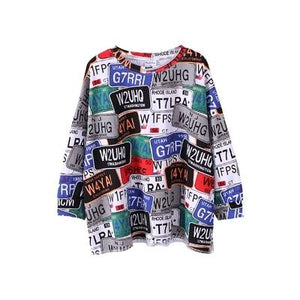 Graffiti Pullover Shirt