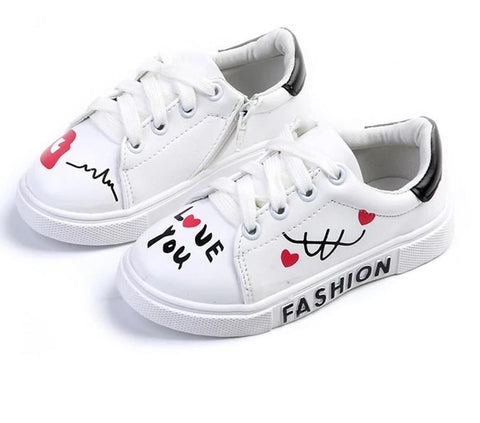 Graphic Print Sneakers