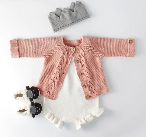 Knitted Romper Outfit